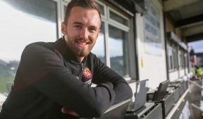 A feature on a day in the life of National League North side Spennymoor Town FC. Content and communications adviser Jack Franks. Picture by Tom Banks